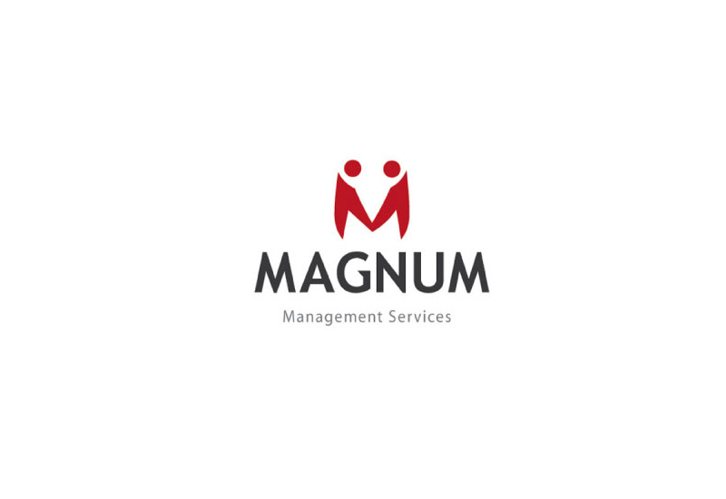 web development company - Magnum logo design - About