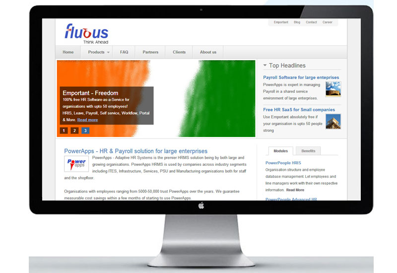 fluous - fluous web design - Fluous