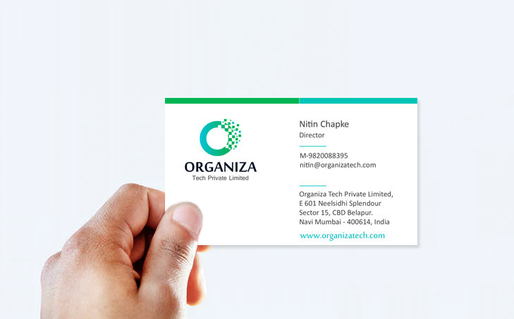 organiza tech pvt.ltd - organiza logo design navi mumbei - Organiza Tech Pvt.Ltd